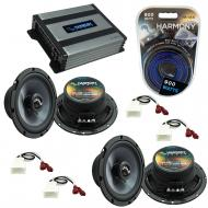 Compatible with Scion xB 2004-2015 Factory Speakers Replacement Harmony (2) C65 & Harmony HA-...