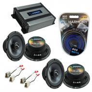 Compatible with Subaru Impreza WRX 2002-2005 OEM Speakers Replacement Harmony (2) C65 & Harmo...