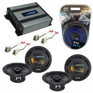 Compatible with Subaru Impreza WRX 2002-2005 Speaker Replacement Harmony (2) R65 & Harmony HA...