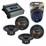 Compatible with Subaru Legacy 1995-2003 Factory Speaker Replacement Harmony (2) R65 & Harmony...