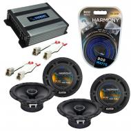 Compatible with Subaru Loyale 1990-1994 Factory Speaker Replacement Harmony (2) R65 & Harmony...