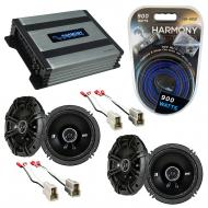 Compatible with Subaru Outback 2000-2004 Factory Speaker Replacement Kicker (2) DSC65 & Harmo...