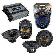 Compatible with Subaru SVX 1992-1997 Factory Speaker Replacement Harmony R65 R69 & Harmony HA...