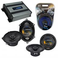 Compatible with Subaru XT Coupe 1985-1990 OEM Speaker Replacement Harmony R5 R65 & Harmony HA...