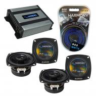 Compatible with Suzuki Samurai 1986-1995 Factory Speaker Replacement Harmony (2) R4 & Harmony...