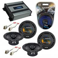 Compatible with Suzuki Swift 1995-2001 Factory Speaker Replacement Harmony (2) R65 & Harmony ...
