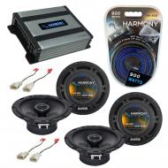 Compatible with Toyota 4 Runner 2001-2002 Factory Speaker Replacement Harmony (2) R65 & Harmo...