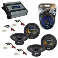 Compatible with Toyota Camry DX Sedan 1992-1996 OEM Speaker Replacement Harmony 2 R65 & Harmo...