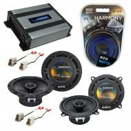Compatible with Subaru GL/DL Hatchback 1981-1989 OEM Speaker Replacement R5 R65 & Harmony HA-...