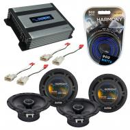 Compatible with Toyota Matrix 2003-2008 Factory Speaker Replacement Harmony (2) R65 & Harmony...
