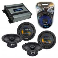 Compatible with Toyota MR2 Spyder 2000-2003 OEM Speaker Replacement Harmony (2) R65 & Harmony...