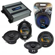 Compatible with Toyota Previa Van 1991-1997 OEM Speaker Replacement Harmony R5 R65 & Harmony ...