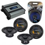 Compatible with Toyota RAV4 1996-2000 Factory Speaker Replacement Harmony (2) R65 & Harmony H...