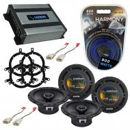 Compatible with Toyota Sequoia 2003-2007 Factory Speaker Replacement Harmony (2) R65 & Harmon...