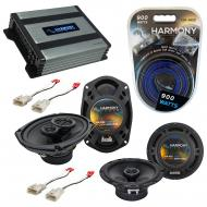 Compatible with Toyota Solara 1999-2003 OEM Speaker Replacement Harmony R65 R69 & Harmony HA-...