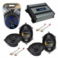 Compatible with Toyota Tacoma 2002-2004 Factory Speaker Replacement Harmony (2) R68 & Harmony...