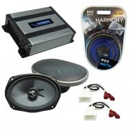 Compatible with Toyota FJ Cruiser 2007-2014 Factory Speakers Replacement Harmony C69 & Harmon...