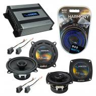 Compatible with Toyota Tercel: Deluxe 83-86 OEM Speaker Replacement Harmony R4 R5 & Harmony H...