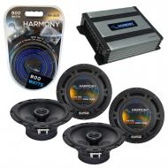Compatible with Volkswagen R32 2008-2008 OEM Speaker Replacement Harmony (2) R65 & Harmony HA...