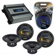 Compatible with Volvo C70 2006-2008 Factory Speaker Replacement Harmony (2) R65 & Harmony HA-...