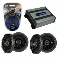 Compatible with Volvo S40 2005-2008 Factory Speaker Replacement Kicker (2) DSC65 & Harmony HA...