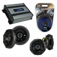 Compatible with Volvo S80 1999-2006 Factory Speaker Replacement Kicker DSC5 DSC65 & Harmony H...