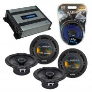 Compatible with Volvo S80 2007-2011 Factory Speaker Replacement Harmony (2) R65 & Harmony HA-...