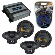 Compatible with Volkswagen GLI 2008-2011 Factory Speaker Replacement Harmony (2) R65 & Harmon...
