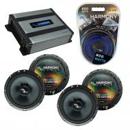 Compatible with Volkswagen GLI 2008-2011 Factory Speakers Replacement Harmony (2) C65 & Harmo...
