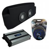 """Compatible with 2002-2013 Cadillac Escalade EXT Harmony F104 Dual 10"""" Loaded Sub Box Bundle ..."""