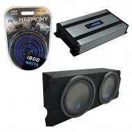 """Compatible with 2004-2008 Mazda RX-8 Coupe Alpine Type S S-W12D2 Dual 12"""" Sub Box Enclosure ..."""