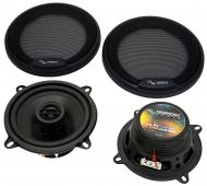 Fits Audi A4 Avant Wagon 1997-1999 Front Door Replacement Harmony HA-R5 Speakers