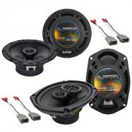 Harmony Audio R65 Factory Replacement Speaker R69 Package Compatible with Honda Civic 1996-2000