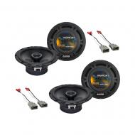 Harmony Audio R65 Factory Replacement Speaker Upgrade Package Compatible with Honda CRV 2007-2011