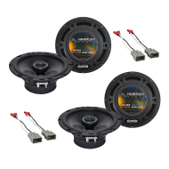 Harmony Audio R65 Factory Replacement Speaker Upgrade Package Compatible with Honda Element 2003-...