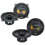 Harmony Audio Bundle Compatible with 2002-2005 BMW 3 Series HA-R5 New Factory Speaker Replacement...