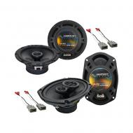 Harmony Audio R65 R69 Factory Speaker Replacement Upgrade Package Compatible with Honda Prelude 1...