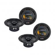 """Harmony Audio Bundle Compatible With 2006-2013 BMW 3 Series (2) HA-R65 6.5"""" New Factory Spea..."""