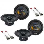 Compatible with Isuzu Oasis 1996-1999 Factory Speaker Replacement Harmony (2) R65 Package New