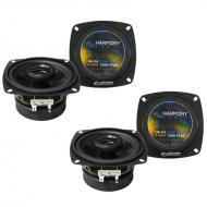 Lexus SC 300/ 400 1992-2000 Factory Speaker Replacement Harmony (2) R4 Package