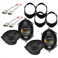Lincoln Navigator 1997-1998 Factory Speaker Replacement Harmony (2) R68 Package
