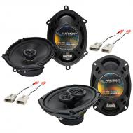 Lincoln Town Car 2003-2011 OEM Speaker Replacement Harmony R68 R69 Package