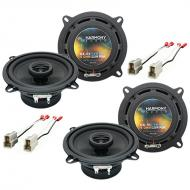 Mazda RX7 1986-1989 OEM Speaker Replacement Harmony Upgrade (2) R5 Package