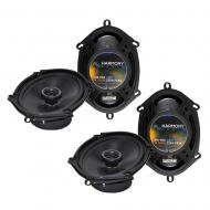 Mercury Cougar 1999-2002 Factory Speaker Replacement Harmony (2) R68 Package