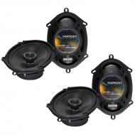 Mercury Montego 2005-2007 Factory Speaker Replacement Harmony (2) R68 Package