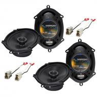 Mercury Mystique 1995-2000 Factory Speaker Replacement Harmony (2) R68 Package