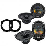 Mini Cooper (convertible) 07-08 OEM Speaker Upgrade Harmony R65 R69 Package