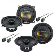 Mitsubishi Galant 1989-1993 OEM Speaker Replacement Harmony R5 R65 Package
