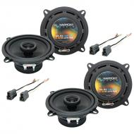 Mitsubishi Mirage 1985-1992 Factory Speaker Replacement Harmony (2) R5 Package