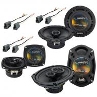 Mitsubishi Montero 92-96 OEM Speaker Replacement Harmony R5 R4 R69 Package